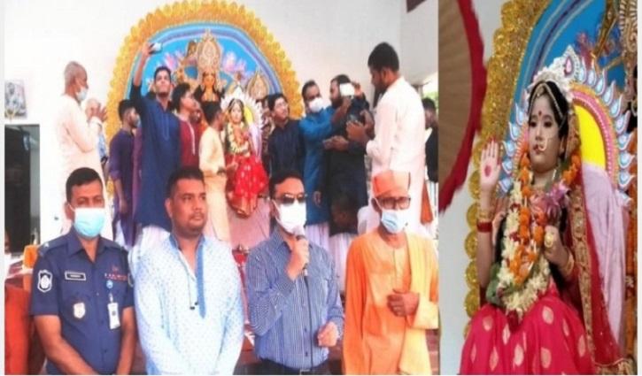 দূর্গাপূজা এখন সার্বজনীন উৎসব: মেয়র টিটু