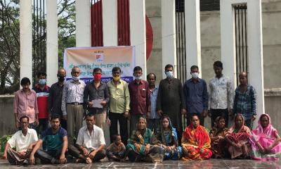 ব্রাহ্মণবাড়িয়ার বিজয়নগরে হিন্দু মহাজোটের সংবাদ সম্মেলন অনুষ্ঠিত
