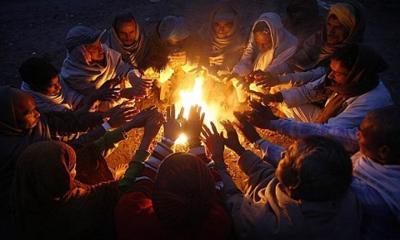 শৈত্যপ্রবাহে ফের কাঁপছে গোটা উত্তরাঞ্চল