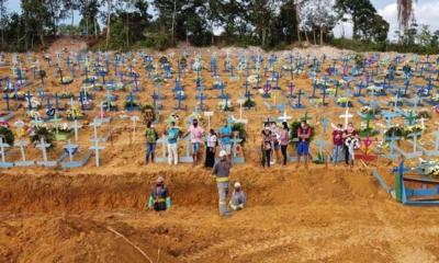 ব্রাজিলে মৃত্যুর রেকর্ড, ভেঙে পড়েছে স্বাস্থ্য ব্যবস্থা