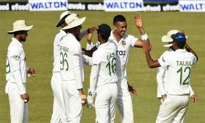 শ্রীলঙ্কার বিপক্ষে দ্বিতীয় টেস্টের দল ঘোষণা বাংলাদেশের