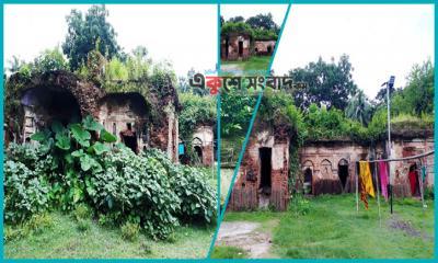সওদাগর দুর্লভ সাহার বাড়িতে এখন পরগাছার বসবাস