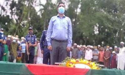 বীর মুক্তিযোদ্ধা হাবিব উল্লাহ'র রাষ্ট্রীয় মর্যাদায় দাফন