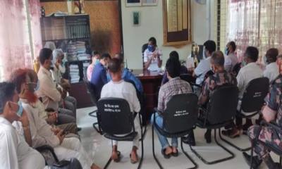 সেনবাগে করোনা বেড়ে যাওয়ায় মনিটরিং কমিটি