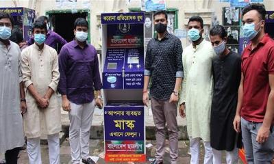 ছাত্রলীগের 'করোনা প্রতিরোধক বুথ' বিভিন্ন পয়েন্টে স্থাপন