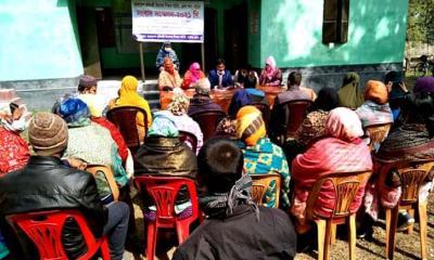 নাটোরে প্রতিবন্ধী স্কুল শিক্ষকদের ১১ দফা দাবি