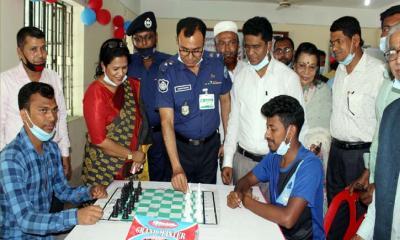 লক্ষ্মীপুর জেলা পুলিশ সুপার দাবা প্রতিযোগিতার উদ্বোধন