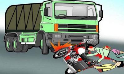জুড়ীতে ট্রাক চাপায় মোটরসাইকেল আরোহী নিহত