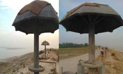 চাঁপাইনবাবগঞ্জে পদ্মা নদীর পাড়ে বিনোদন স্পট