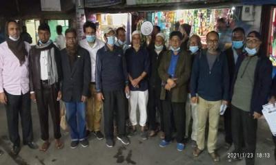 চট্টগ্রামে নৌকার গণসংযোগে আওয়ামী লীগের নেতৃবৃন্দ