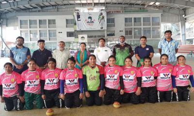 জাতীয় নারী ডিউবল প্রতিযোগিতার ফাইনাল কাল