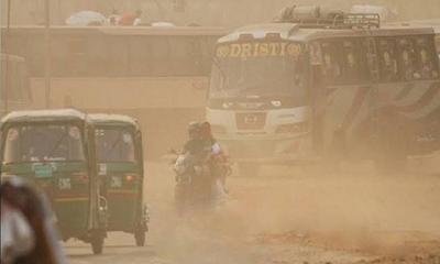 ঢাকায় বায়ুদূষণ: স্মরণকালের সবচেয়ে বিপজ্জনক অবস্থা আজ