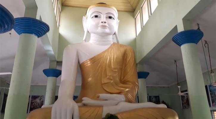কুয়াকাটায় প্রাচীনতম নিদর্শন মিশ্রিপাড়া বৌদ্ধ বিহার