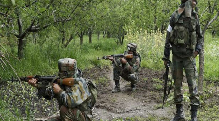 কাশ্মীরে নিরাপত্তা বাহিনীর সঙ্গে বন্দুকযুদ্ধ: নিহত ২