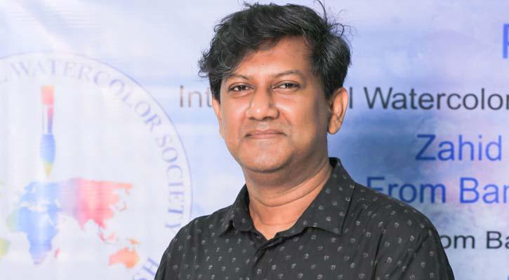 আন্তর্জাতিক পুরস্কার জিতলেন জাহিদ বাশার পঙ্কজ