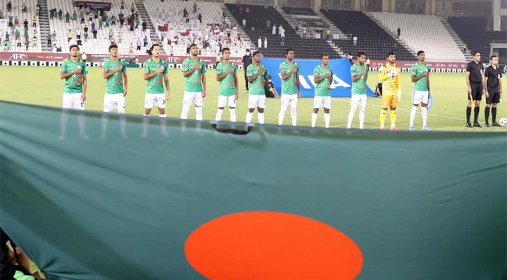 বাংলাদেশ  ফুটবল দল সরাসরি এশিয়ান কাপ বাছাইয়ে