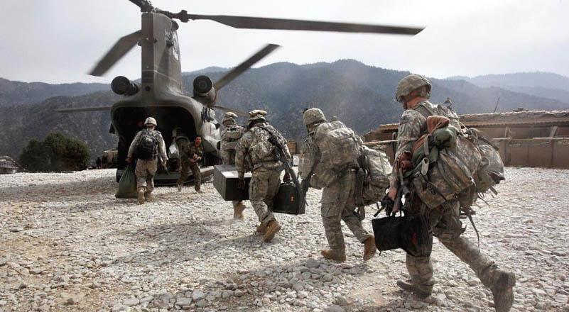 বিশ বছর পর আফগানিস্তান ছাড়লো মার্কিন সেনারা